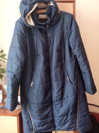 Подовжена зимова куртка