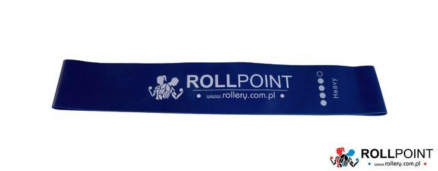 MINI BAND Gumy do ćwiczeń Gumy oporowe ROLLPOINT