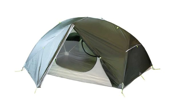 Палатка Tramp  Cloud 2 Si  TRT-092-GREY  темно зеленая + футпринт
