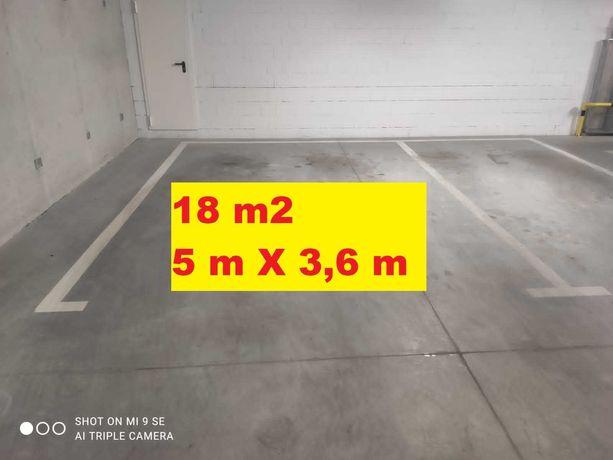Wynajmę duże miejsce parkingowe w garażu podziemnym - Legnicka 59, 59d