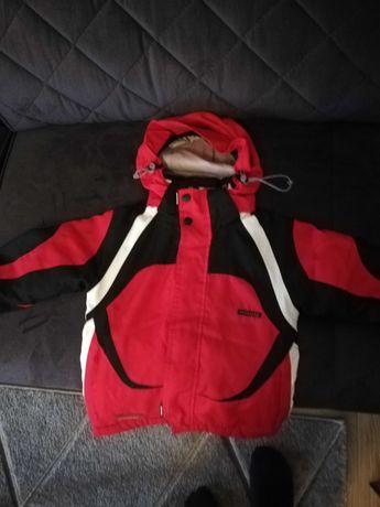Kurtka narciarska, zimowa, dziecięca 98-104