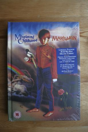 Marillion - Misplaced Childhood - BluRay DELUXE
