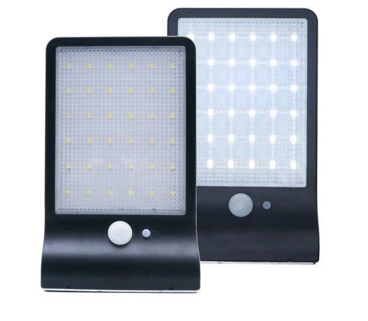 Lampa solarna, reflektor, halogen słoneczny 42 led 20W + pilot + USB