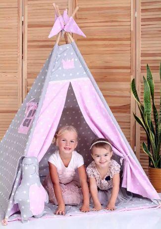 Вигвам палатка тканевая для детей, игровой домик халабуда