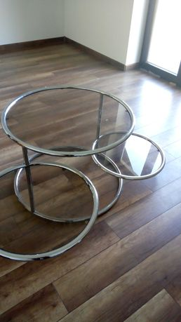 Szklany stolik ława