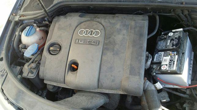 KOMPLETNY Silnik BLF 1.6FSI 115ps Audi A3 8P GOLF V PLUS Touran Leon