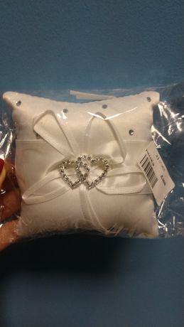 Подушка для обручальных колец 10х10см