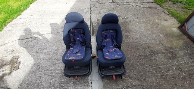 Fotele Fotel VW Sharan ISOFIX