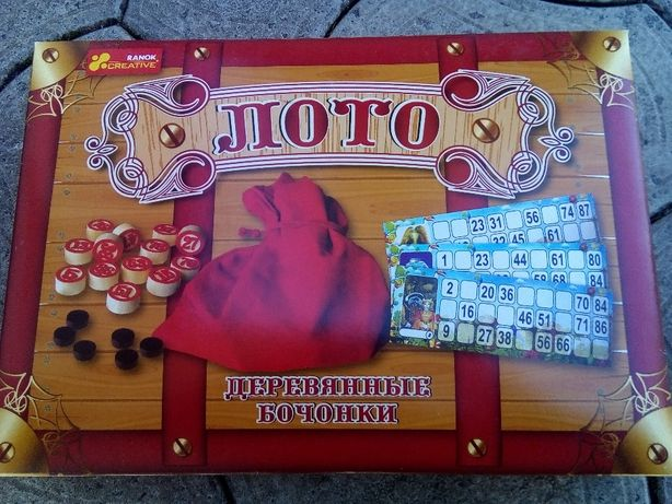 Игра настольная Русское лото