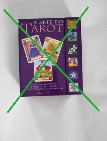 Livros 'A Cabala Explicada' e a 'A Arte do Tarot com baralho' NOVOS