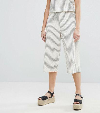Spodnie w paski Vila M 38 must have