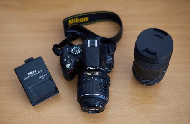 Nikon D5100 + Kit Lens + Sigma 18-35mm (Junto ou Separado)
