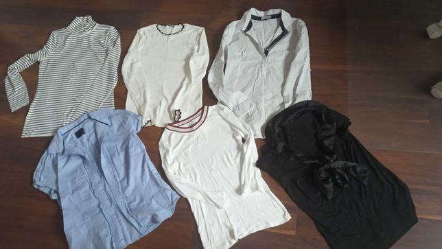 Bluzka koszula sweter Zara cena za całość