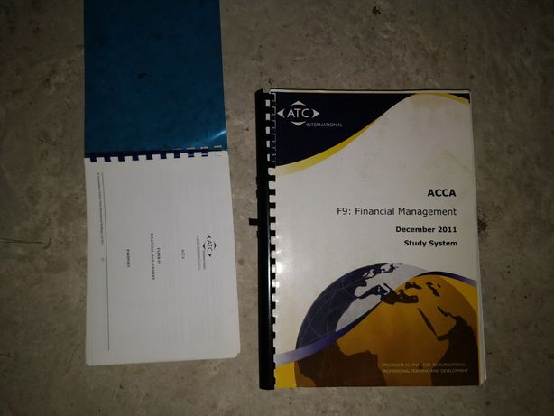 ACCA F8 Financial management (ATC Study book and Passport)
