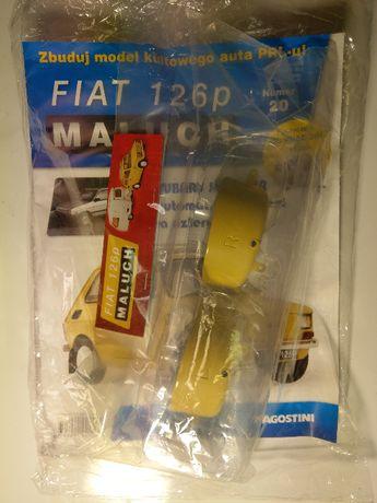 Kolekcja Deagostini Metalowy Model FIATA 126p z przyczepą nr: 20