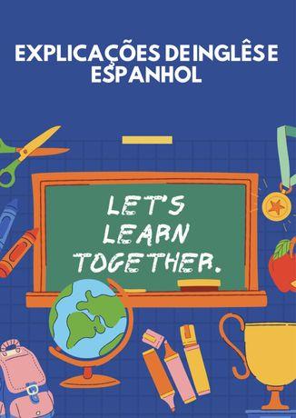 Explicações de Inglês e Espanhol