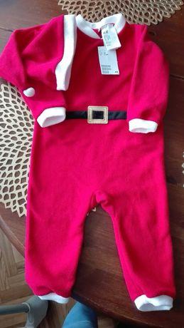 Ubranie Mikołaja Elf body świąteczne rozm.80