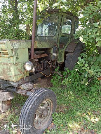 Трактор т-40 с прицепом