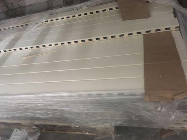 Regały sklepowe metalowe półkowe nowe TEGOMETALL EDEN KIFATO