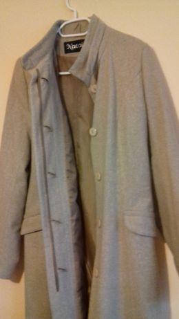 Płaszcz nowy z podszewką rozmiar 36 elegancki jesień, wiosna
