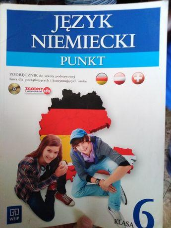 Podręcznik do j.niemieckiego PUNKT klasa 6