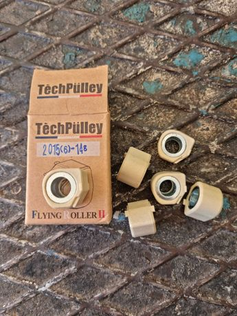 Roletes techpulley  20x15   14 gramas