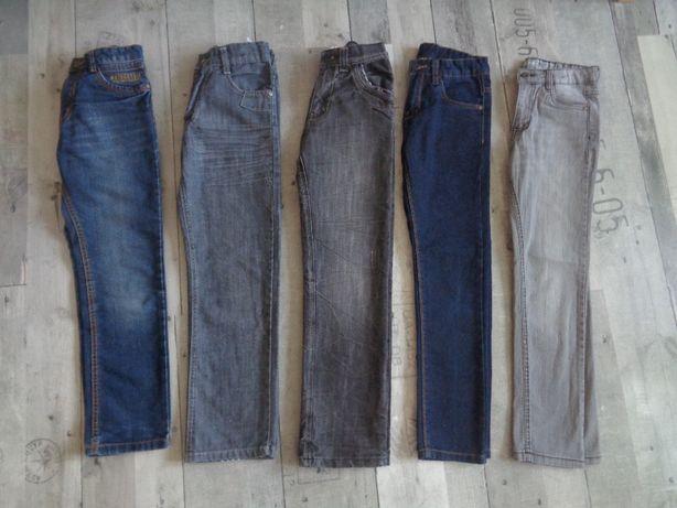 Spodnie jeansy roz. 134-140