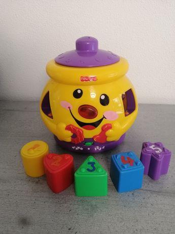 Умный горшок, Fisher Price, українською, іграшки