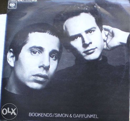 Simon & Garfunkel - Bookends (1968) LP vinil
