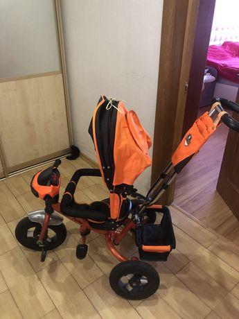 Продам детский велосипед  BEST TRIKE оранжевый