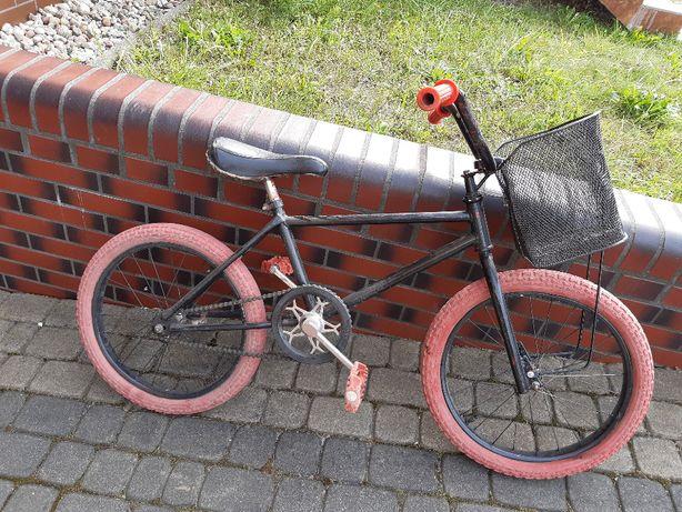 stary rower bmx oryginalny 30 letni dziecięcy