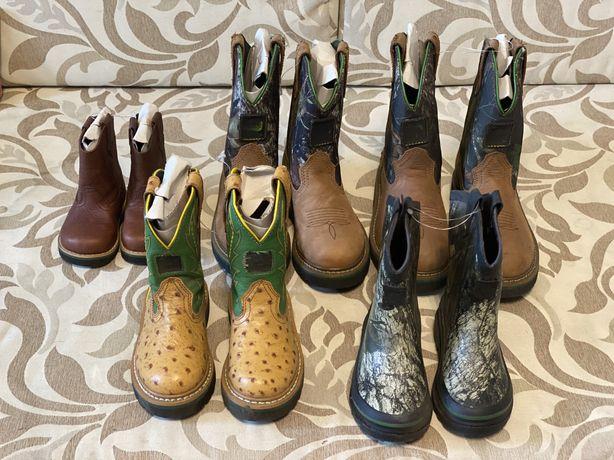 John Deere Детские сапоги, ботинки, кроссовки,резиновые сапоги, казаки