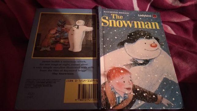 книга на английском языке снеговик the snowman