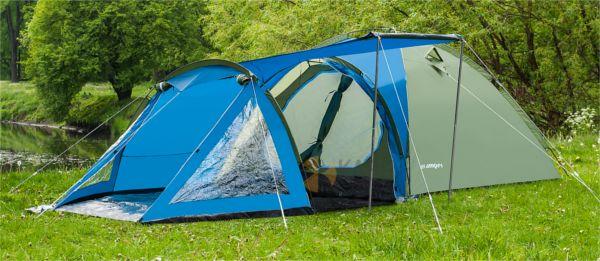 Палатка туристическая кемпинговая Acamper Soliter 4 двухслойная Нова