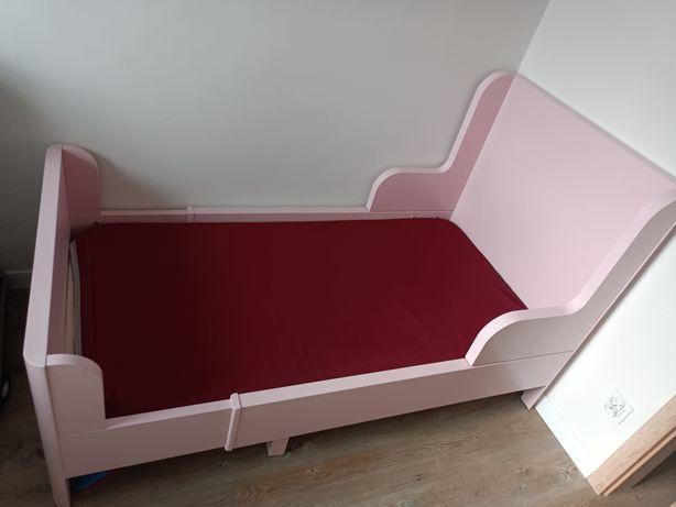 IKEA Busunge Łóżko dla dziecka rozsuwane.