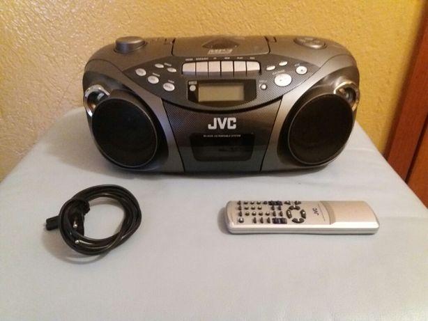 Radioodtwarzacz z pilotem JVC