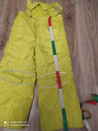 Spodnie Zimowe na narty i sanki rozm. 116