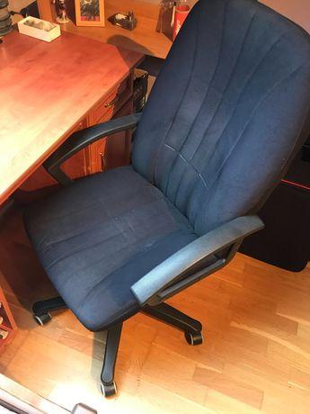 Fotel krzesło biurowe biurka biurowy duży wygodny oparcia regulowany