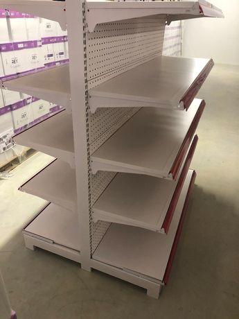 Prateleira de Supermercado Dupla