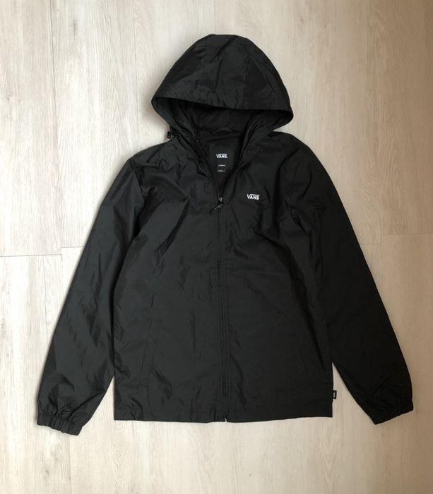 Легкая черная куртка ветровка Vans Киев - изображение 1