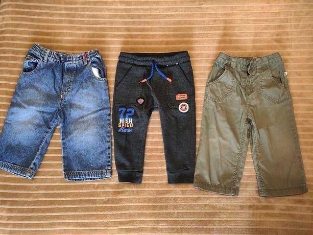 3 штанов по супер цене джинсы спортивные штаны на мальчика