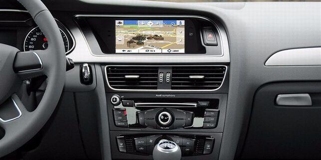 """Auto-rádio Audi A4, A5 2007 a 2015 2 DIN 7"""" HD GPS TDT"""