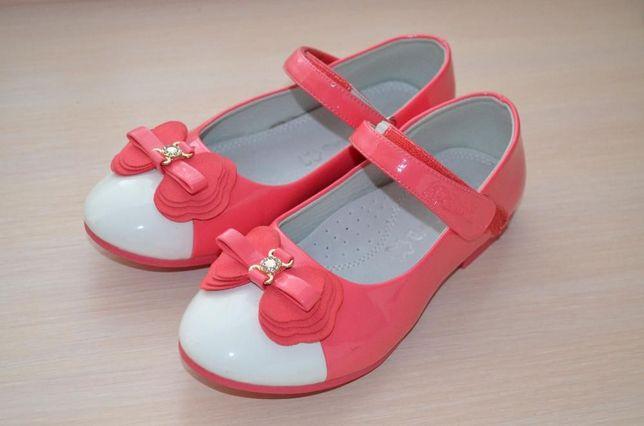 Туфли лаковые 21.5см