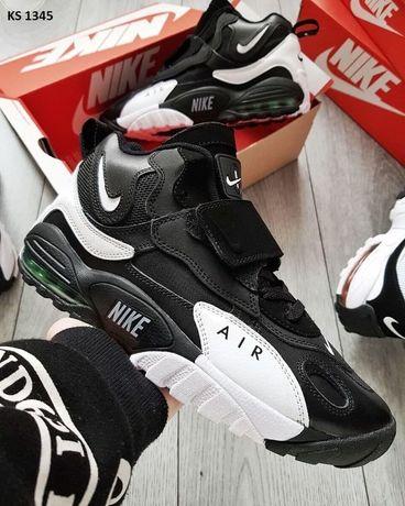 Nike Sportswear Air Max Speed Turf (черно/белые)