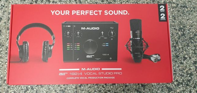 M-AUDIO AIR 192/4 VOCAL STUDIO PRO od Loombard Jarocin śródmiejska 31