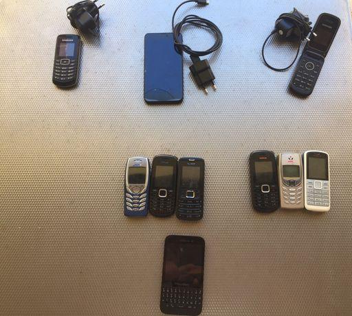 Lote de Telemoveis varios todos operacionais