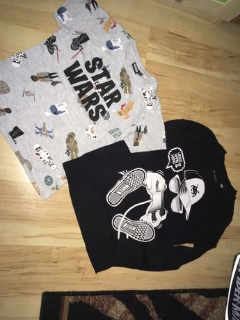 bluza i t shirt koszulka 122 128 star wars