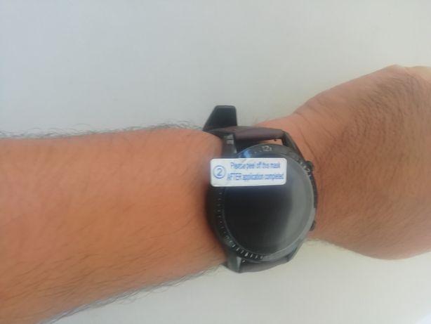 Relógio Smartwatch com chamadas via bluetooth [Novo) brac castanha esc
