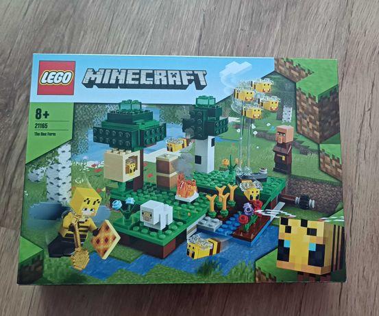 LEGO Minecraft pasieka pszczoły
