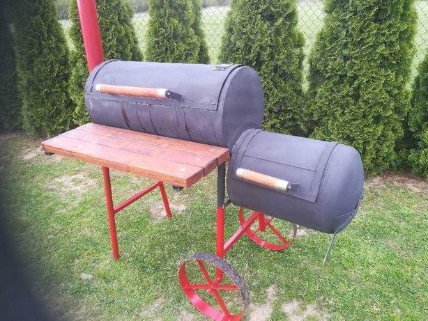 Okazja!Obniżka!Sprzedam grill z wędzarnią